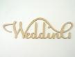 """0444-Слово """"Wedding"""""""