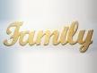 """0568-Слово """"Family"""""""