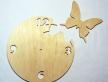 """0618-Основа для годиника """"Метелик"""""""