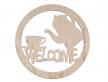 """1430-Табличка """"Welcome"""""""