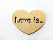 """2201 - Серце """"Love is..."""""""
