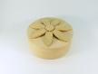 0321-Скринька кругла з квіткою