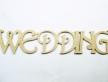 """0399-Слово """"WEDDING"""""""